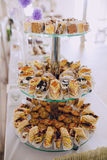Wedding reception decor food Royalty Free Stock Photography