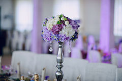 Wedding reception decor food Royalty Free Stock Photography