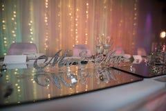 Free Wedding Reception Decorations Stock Photography - 159484362