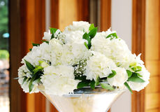 Wedding reception flower Stock Image