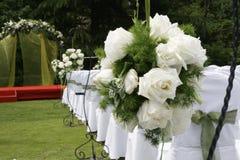 Wedding reception flowers Stock Image