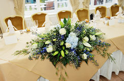 Wedding reception flowers Royalty Free Stock Image