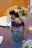 Wedding Reception Flowers Royalty Free Stock Photography