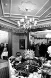 Wedding reception food Stock Photos