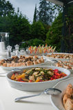 Wedding Reception Food Royalty Free Stock Photography