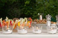 Wedding Reception Food Stock Image