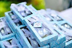Wedding reception gifts Royalty Free Stock Photography