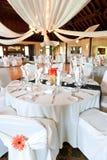 Wedding reception hall royalty free stock photo