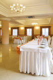 Wedding reception interior Stock Photos