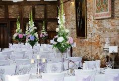 Wedding reception interior royalty free stock images