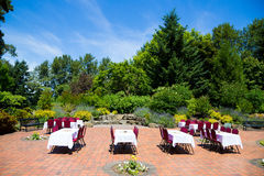 Wedding Reception Location Outdoors Stock Photos