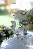 Wedding reception setting Royalty Free Stock Photo