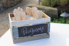 Wedding Reception Sign Decor Stock Photography