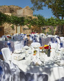 Wedding Reception in Spain Royalty Free Stock Photography