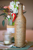 Wedding Reception Table Centerpieces Royalty Free Stock Images