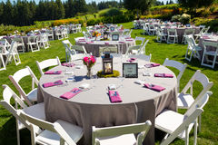 Wedding Reception Table Details Stock Photos