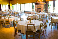 Wedding Reception Tables and Seating Stock Images