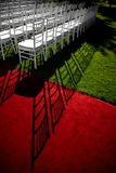Wedding red carpet Royalty Free Stock Photos