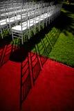 Wedding red carpet royalty free stock photos