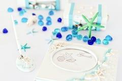 Wedding Registration Desk Decorations Stock Images