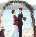 Wedding in retro style Stock Photos