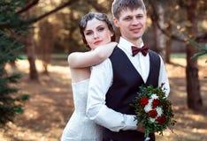 Wedding in retro style Stock Photo