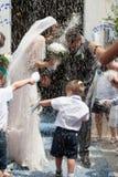 Wedding rice Stock Image