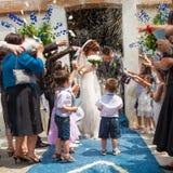 Wedding rice Royalty Free Stock Image