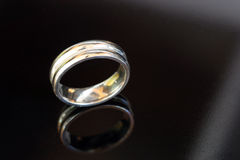 Wedding Ring. Mens Wedding Band stock image