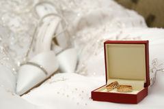 Wedding of a ring Royalty Free Stock Image