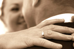 Wedding ring Stock Photography