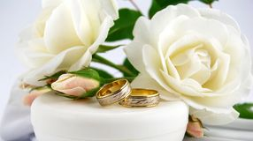 Wedding ring royalty free stock photos