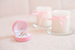 Wedding ring Stock Photos