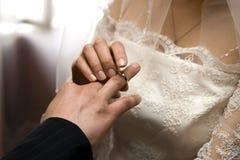 Wedding ring Stock Photos