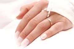 Wedding ring. Wedding day royalty free stock images