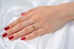 Free Wedding Ring Royalty Free Stock Photography - 49992577