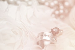 Wedding  ring background Stock Photo