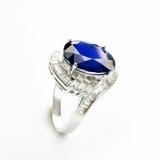 Wedding ring. Beautiful wedding   wedding ring   Sapphire Luxury Royalty Free Stock Images