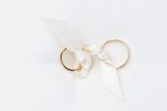 gold wedding ring Stock Photo