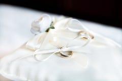 gold wedding ring Stock Image