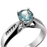 Wedding Ring with diamond Royalty Free Stock Photo