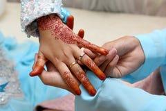 Free Wedding Ring Exchange Stock Photography - 36767142