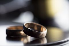Divorce law concept. Royalty Free Stock Image