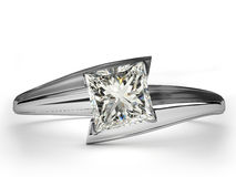 Wedding Ring gift . Stock Photos