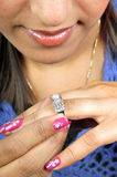 Wedding ring jewellery Stock Photography