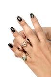 Wedding ring jewellery Royalty Free Stock Image