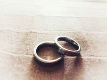 The wedding ring royalty free stock photography