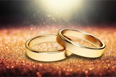 Wedding. Ring  ring gold married jewelry  vows vector illustration