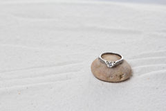 Wedding ring. Royalty Free Stock Images