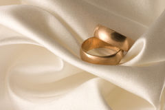 Wedding rings 1 Royalty Free Stock Images
